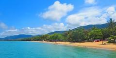 Palm Cove Beach, Cairns Australia (jeffglobalwanderer) Tags: palmcove beach cairns queensland australia beachlife sand ocean tropicalbeach coastline