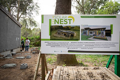 Alternative_Break_20190319_0274 (Sacramento State) Tags: sacramentostate sacstate californiastateuniversitysacramento universitycommunications hornets jessicavernone alternative break spring volunteer community engagement center solar house living building