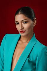 Harika (issamousa2) Tags: beauty sony sonya6000 studio fashion blazer colors
