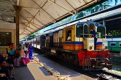 Yangon Railway Central Line (gerard eder) Tags: world travel reise viajes asia southeastasia myanmar burma birmania birma yangon railwaystation railway train trainstation centralline people peopleoftheworld traffic transport rangoon outdoor