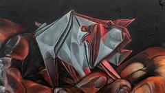 "Origami Pig - ""Nurture"" (Airborne Mark) Tags: origamipig airbornemark origamiart"