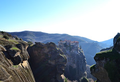 Meteora (born to be an artist) Tags: meteora rocks monastery monks art frescoes nature mountains
