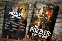 The Puzzler Army of one (Mnsartstudio) Tags: bookcover bookcoverdesign ebookcoverdesign ebook ebookcover createspace createspacecoverdesign createspacecover