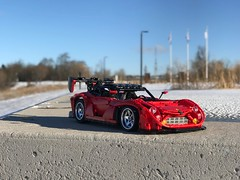 Justin's Mazda RX7 with Charbels Framework- some crazy sunny day shots