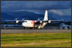 N405LC Coulson NEXT GEN AIR TANKER 132 Lynden Air Cargo (Bob Garrard) Tags: lockheed l100 hercules l382g n405lc coulson next gen air tanker 132 lynden cargo anc panc