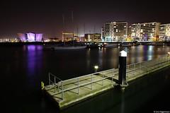 Titanicgebäude und Hafen in Belfast am 17.04.18 (niggi90) Tags: titanicmuseumbelfast titanicmuseum titanic belfast hafenbelfast nordirland northernireland