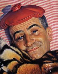 How are you? (Louis de Funes) (irishishka) Tags: art artirishishka pastels pastelpainting portraits realism figurative hyperrealism drawings movie louisdefunes
