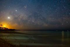 Milky Way at Playa Ancon (owencherry) Tags: x100s longexposure jupiter milkyway travel wclx100 cuba moonrise alignment moon astrophotography 2019 fujifilm venus