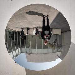 Selfie, Modern Art Style. (Papaye_verte) Tags: anishkapoor muac museouniversitarioartecontemporaneo mexicocity mexico selfie museum musée museo