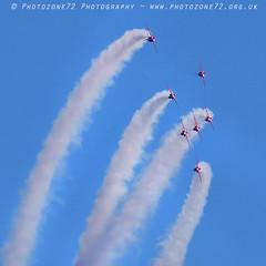 9947 7 ship loop R1 R2 R3 R4 R6 R7 R8 (photozone72) Tags: raf rafat redarrows reds redwhiteblue aviation aircraft jets hawk canon canon100400f4556lii canon7dmk2 7dmk2 scampton lincolnshire