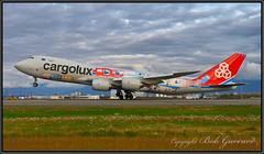 "LX-VCM Cargolux Airlines International ""Cutaway"" (Bob Garrard) Tags: lxvcm cargolux airlines international cutaway boeing 748 747 anc panc"