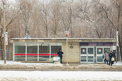 St Clair West Station (A Great Capture) Tags: ttc snow snowy toronto subway station stclairwest agreatcapture agc wwwagreatcapturecom adjm ash2276 ashleylduffus ald mobilejay jamesmitchell on ontario canada canadian photographer northamerica torontoexplore winter l'hiver 2019 city downtown lights urban cold weather cityscape urbanscape eos digital dslr lens canon 6d mark ii ef2470mm outdoor outdoors outside architecture architektur arquitectura design streetphotography streetscape photography streetphoto street calle neige schnee torontotransitcommission red rocket redrocket transport