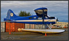 N1253  Private Owner (Bob Garrard) Tags: n1253 de havilland canada dhc2 beaver mki lake hood anchorage alaska