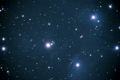 Messier 45 - The Pleiades (sparticus_37) Tags: astrophotography sky messier starcluster opencluster