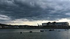 Negras tormentas (eitb.eus) Tags: eitbcom 30487 g1 tiemponaturaleza tiempon2019 paisajes bizkaia portugalete juantxuaberasturi