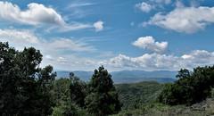 Paysage du Gard (DOMVILL) Tags: france gard ciel collines domvill horizon nuages paysage wwwflickrcompeoplevildom