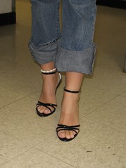 Toes in sandals (Jaylynn's Best Feeture) Tags: toes feet footfetish female sexy sandals sexyfemalefeettoessandalstoesbarelegsanklesheelshighheelsmulesslidessoles highheels heelfetish ankles anklet