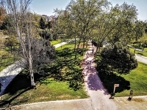 El Jardín del antiguo cauce del río Turia - Parque Urbano del Turia - Valencia