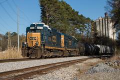 Golden GP30 (travisnewman100) Tags: csx train railroad rr freight manifest local yard job wa subdivision atlanta division cartersville georgia y220 control point north junta