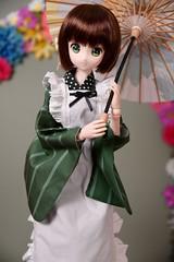 Azone 50 cm , CHIYA (Real Salica) Tags: azone 50cm 13scale 13 japanese japan yukata is order rabbit vinyl wig volks anime
