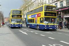 AV 420 & AX 545 O'Connell Street 11/04/19 (Csalem's Lot) Tags: 155 16 av420 ax545 oconnellstreet ax av dublin bus alx400 dublinbus volvo