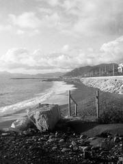 080419003 (francescoccia) Tags: analogue analog francescoccia 110 110film pocketfilm lomography lomo orca bn bw blackwhite pentaxauto110 pentax reflex sea beach lavagna