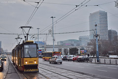 1252 - 22 - 21.12.2018 (VictorSZi) Tags: poland warsaw varsovia transport tram tramvai publictransport winter iarna december decembrie nikon nikond5300