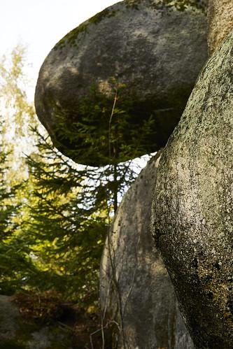 Felsenlabyrinth im Fichtelgebirge