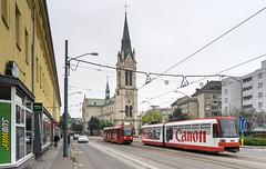 Bratislava tramway: Tatra K2S # 7129 (Amir Nurgaliyev) Tags: dpb tatrak2s bratislavatramway