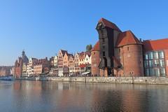 The Crane (phileveratt) Tags: poland gdańsk motławariver crane medieval woodencrane tower twintowers canon eos77d efs18135