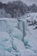 Winter Wonder 4 - The Wonder of Niagara 4Polar Vortex 2015 - Niagara Falls during the winter of 2015 (remiklitsch) Tags: winterwonderseries series niagarafalls polarvortex nikon remiklitsch march 2015 nature falls winter snow ice frozen colorofwinter bridalfalls usa canada border landscape travel wondersoftheworld monochromatic