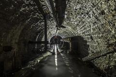 Down Below (Camera_Shy.) Tags: underground holmfirth yorkshire culvert brook tunnel drain brick reflections black shadow light backlight urban exploring ue hidden below urbex uk nikon d810