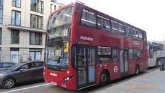 P1140902 VMH2529 LF68 PXE at Baker Street Station Baker Street Marylebone London (LJ61 GXN (was LK60 HPJ)) Tags: metroline volvob5lhybrid mcvevoseti mcv evoseti 105m 10490mm vmh2529 lf68pxe nb907