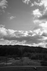 Cloud theatre (frankdorgathen) Tags: blackandwhite monochrome schwarzweiss schwarzweis xf10 fujifilm winter ruhrpott ruhrgebiet bochum landscape landschaft himmel sky wolken clouds