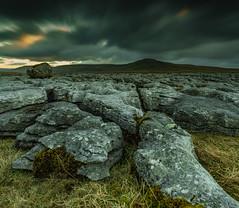 Last light (Tom Strawn) Tags: yorkshire dales landscape dusk boulder dramaticsky