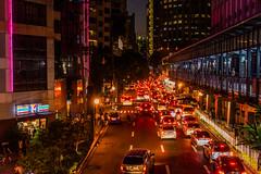 Traffics in Makati (Thanathip Moolvong) Tags: makati philippines ph ayala manila night