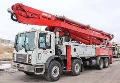 Keystone Concrete Placement Pump Truck (raserf) Tags: keystone concrete cement placement pump pumper pumping truck trucks mack schwing houston san antonio austin texas sturtevant wisconsin putzmeister racine county