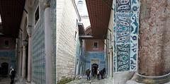 Turquoise harem (Insher) Tags: turkey istanbul topkapi saray palace harem islamic art ottomanempire museum mosaic tile
