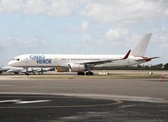 Cabo Verde                                        Boeing 757                                        D4-CCF (Flame1958) Tags: caboverde caboverdeairlines caboverdeair caboverdeb757 boeing757 boeing b757 757 opf kopf opalocka opalockaairport flap flap2019 200219 0219 2019 8251