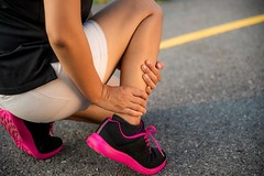 How to Get Rid of Leg Cramps: 8 Ways to Ease the Pain (liliannorman) Tags: education accident ache adult ankle athlete broken cramp exercise fitness foot health holding hurt injured injury jogger jogging joint leg ligament male marathon muscle osteoarthritis outdoor outside pain painful people person physical problem road run runner running rupture sore sport sports sprain sprained strain swollen training twisted woman workout