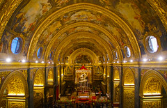 Nave (little_frank) Tags: saintjohnscocathedral valletta malta church cathedral art religion christian baroque perspective style decoration chapel golden mass culture past history artistic masterpiece spectacular stage marvel marvelous amazing beauty beautiful perfection perfect splendid