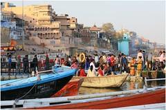 India Travel Photography: Aarti Ceremony, Nada Sadhus & burning Ghats at Varanasi 2019 Benares.029 by Hans Hendriksen (Travel Photography - Reisfotografie) Tags: india travel photography uttar pradesh north noord crowd reisfotografie reisfoto varanasi cremation ghat ghats benares banāras kashi kasi 2019 bad baden bath snan bathing people planet naked naakt naga sadhu saddhu baba nackt hindu hindus hindoe hindoes ganga gangus ganges river rivier march holy heilig sacred ceremony ceremonie religion religie nude dahues babas pelgrims pilgrimage pilgrims bedevaart menigte hindúes sagrado río aarti fire vuurceremonie burning manikarni manikarnika dead reincarnation reincarnatie afterlife