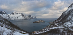 Way to Husoy (Antoni Figueras) Tags: senja norway husoy winter snow island europe clouds sea road panorama landscape sonya7rii sony24105f4 antonifigueras