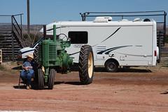 Deere at rest (twm1340) Tags: 2019 az arizona flywheelers antique tractor show cottonwood