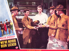 """Promotional materials for """"We've Never Been LIcked"""" 04.jpg (buddymedbery) Tags: years unitedstates worldwarii collegestation 1943 1940s texas"""