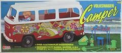 Volkswagen Camper by Empire Toys Box (hmdavid) Tags: vintage volkswagen camper 1970s toy dolls empire hippie vw bus flowerpower doll