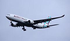 Airbus A330-200 - (EL-GGR) (dawidnogaj1995) Tags: airitaly airplane plane chopin lot airbus