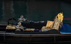 Waiting in the sun (Caffe_Paradiso) Tags: venice venezia venise gondola