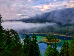 Scenic view of Switzerland lakes (krpena.lutkica) Tags: lake switzerland flims nagens natural nature greenery sky poetic perfection turism