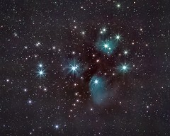 Pleiades from Bristol garden (simarknewman) Tags: astrophotography pleiades stars space sevensisters